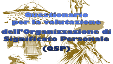 Questionario per la valutazione dell'Organizzazione di Significato Personale (QSP)