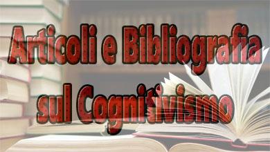 Cognitivismo: articoli e Bibliografia